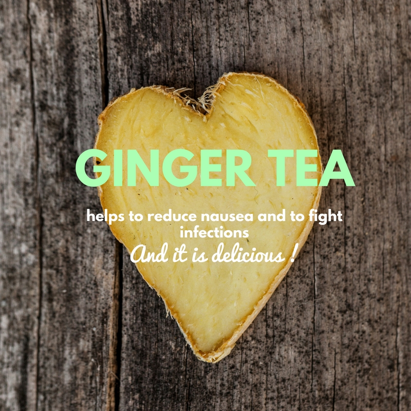health benefits of ginger root tea
