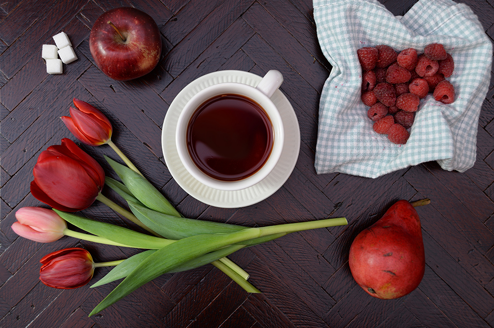 how to make fruit tea