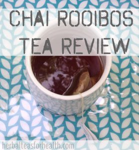 chai rooibos tea review